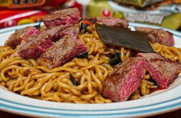 チャパグリ牛肉のせ