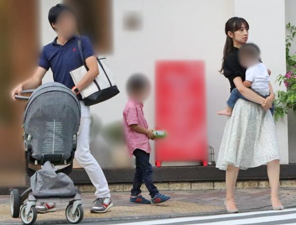 小倉優子 家族