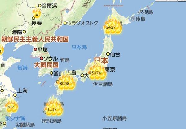 てる マップ 大島