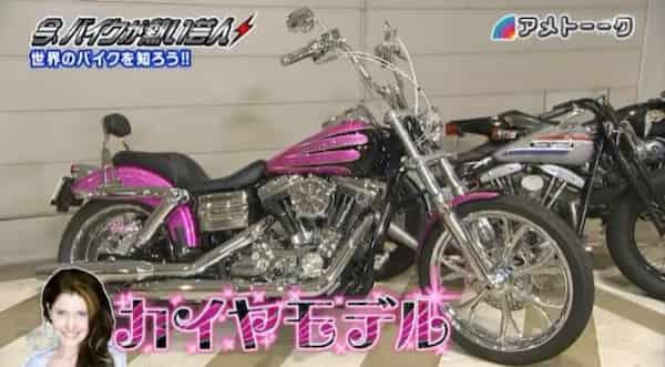 井戸田潤バイク
