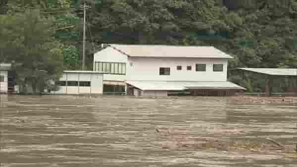 江の川氾濫島根県
