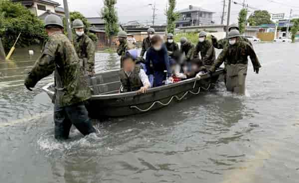 大牟田浸水被害