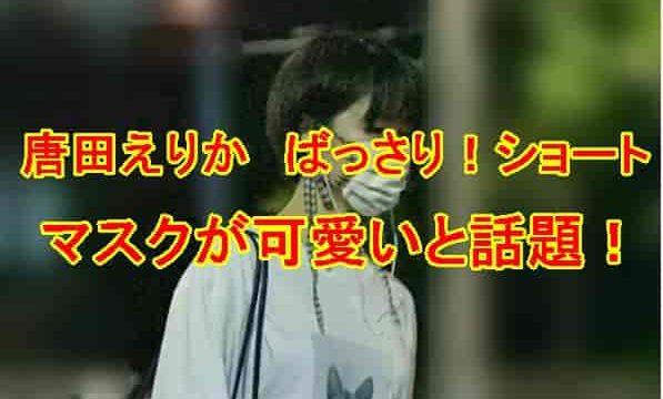 唐田えりかマスク