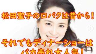 松田聖子口パク