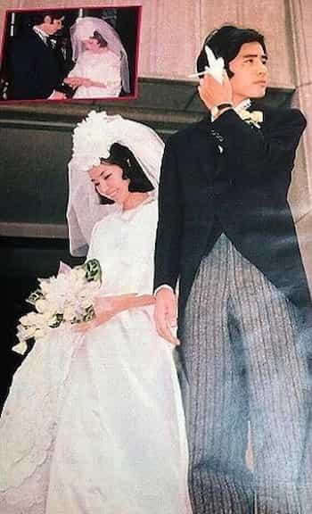 田村正和結婚式