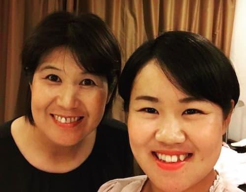 畑岡奈紗と母